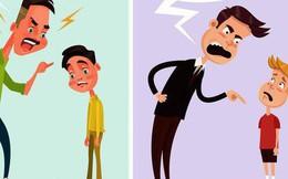 8 sai lầm của cha mẹ khiến con lớn lên sẽ hình thành tính cách xấu