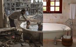 [Pic] Một bức ảnh hai thế giới cho thấy sự tương phản khiến chúng ta phải suy ngẫm