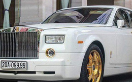 Đại gia Thái Nguyên bán Rolls-Royce Phantom mạ vàng biển tứ quý 9: Giá đồn đoán vượt nửa triệu USD