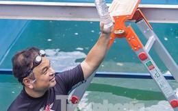 Hé lộ bí mật quy trình xử lý nước sông Tô Lịch bằng 'bảo bối' Nhật