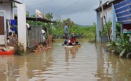 Cuộc sống người dân Phú Quốc bị đảo lộn trong trận lụt lịch sử