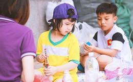 Ở Hà Nội có một ngôi trường đã nhiều năm không thả bóng bay ngày khai giảng, bảo vệ môi trường là phương châm giáo dục chính