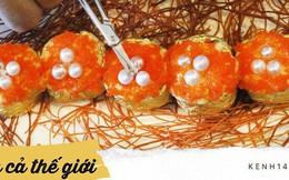 Đĩa sushi có giá gần 100 triệu đồng được đầu bếp tạo ra với mục đích vô cùng đặc biệt
