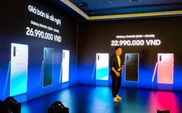 Galaxy Note10 và Note10+ chính thức ra mắt tại Việt Nam: giá từ 22,9 triệu đồng, mở bán 23/8