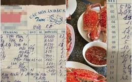 """Nhà hàng ở Đà Nẵng """"cắt cổ"""" khách với hóa đơn hải sản 85 triệu, khách kêu la liền bị bắt bẻ """"phải 90 triệu mới đúng, vì thiếu 4 triệu tiền cua"""""""