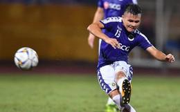 """Quang Hải """"lên thần"""", ghi liên tiếp hai bàn đẹp mắt ở Cúp châu Á cho Hà Nội FC"""