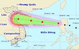 Bão Podul vào Biển Đông, giật cấp 12 hướng vào Bắc Trung bộ