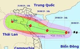 Bão số 4 sẽ đi vào đất liền Thanh Hóa - Quảng Bình, giật cấp 11 và có khả năng mạnh thêm