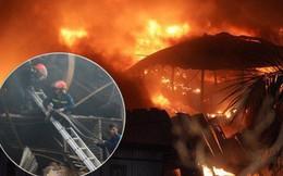 Diện tích khu vực xảy ra cháy nhà máy Rạng Đông khoảng 6000m2, 200 chiến sĩ cùng 35 phương tiện được huy động cứu hỏa
