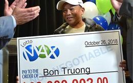 Chơi một dãy số trong 30 năm, người đàn ông gốc Việt trúng 60 triệu đô la