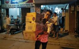 Khuyến cáo người dân không ăn thực phẩm trong bán kính 1km từ tâm vụ cháy nhà máy Rạng Đông trong 21 ngày