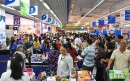 Ngày đầu nghỉ lễ 2/9: Siêu thị đông ngẹt, thực phẩm nhảy giá
