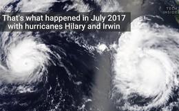 Bão chồng bão và hiện tượng kì thú mang tên Fujiwhara