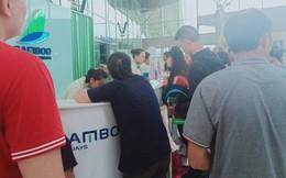 Ảnh hưởng áp thấp nhiệt đới Kajiki, nhiều khách đặt vé Bamboo Airways từ Đà Lạt về Hà Nội bị trễ chuyến