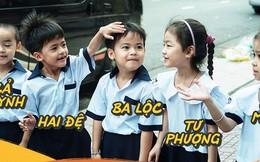 """""""5 siêu nhân nhí"""" trong ca sinh năm đầu tiên ở Việt Nam lém lỉnh ngày khai giảng: Xin chào lớp 1!"""