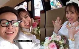 Đại gia Minh Nhựa thể hiện đẳng cấp trong đám cưới con gái: 15 siêu xe gần 100 tỷ hộ tống, ái nữ đeo sính lễ vàng và kim cương mỏi tay