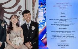 Sốc: Hé lộ thực đơn trong bữa tiệc cưới gần 20 tỷ của con gái đại gia Minh Nhựa, toàn sơn hào hải vị nhưng số lượng món ăn mới gây bất ngờ