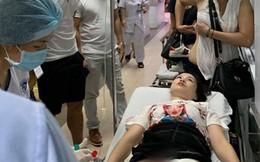 CĐV nữ bị pháo bắn trúng: Bỏng cực nặng vì hóa chất, phải phẫu thuật 2 lần