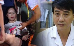 Bác sĩ điều trị lên tiếng về tình trạng của nữ CĐV bị bỏng do pháo trong trận Hà Nội FC vs Nam Định