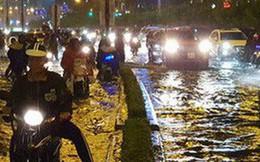 """""""Rốn ngập"""" Nguyễn Hữu Cảnh ngập trong trận mưa lớn: Ông chủ 'siêu máy bơm' nói gì?"""