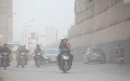 Ô nhiễm không khí kinh hoàng khắp Bắc Bộ vào sáng và tối