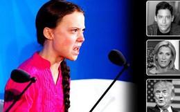 """Tranh cãi bùng nổ vì """"chiến binh khí hậu"""" Greta Thunberg: Người khen dũng cảm, kẻ chê xấc xược và chỉ biết nói suông"""