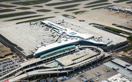 Bên trong sân bay Mỹ cạnh tranh trực tiếp với 'siêu sân bay' mới của Trung Quốc