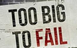 """Khi nào một định chế được gọi là """"too big to fail""""?"""