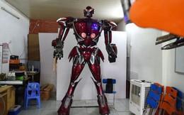 Việt Nam chế tạo thành công robot theo phong cách Transformers: Được làm hoàn toàn từ phế liệu xe máy, có thể nói tiếng Việt hẳn hoi