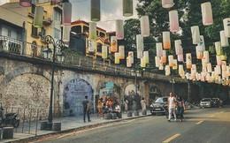 """Hà Nội: Cấm toàn bộ phương tiện lưu thông trên phố Phùng Hưng phục vụ chương trình """"Ký ức Hà Nội - 65 năm"""""""