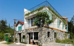 Ngôi nhà cách biển vài bước chân có vẻ đẹp thân thuộc, tạo nên chốn đi về ấm áp cho vợ chồng trẻ ở Quảng Nam