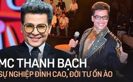 """MC Thanh Bạch một thời làm bá chủ gameshow, lập cả kỷ lục Guinness trước khi bị vợ cũ Xuân Hương """"vén màn"""" cuộc sống hôn nhân"""