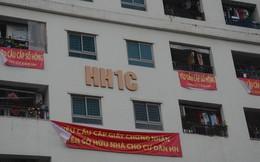 Hà Nội: Thực hư thông tin yêu cầu cư dân chung cư Linh Đàm không treo băng rôn đòi sổ hồng vì băng rôn có độc