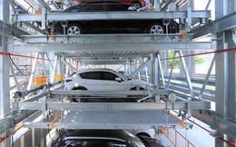 Cận cảnh bãi đỗ xe 6 tầng thông minh, tự động xếp hình đầu tiên ở Đà Nẵng