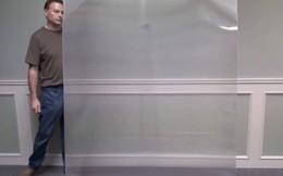 Một công ty Canada chế tạo ra vật liệu tàng hình, một lớp chắn có thể khiến người đứng đằng sau nó biến mất!