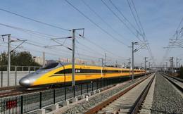 Đường sắt cao tốc của Trung Quốc chạy thử nghiệm đạt tốc độ kỷ lục 385 km/h, cao hơn 10% so với tốc độ thiết kế