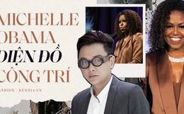 Danh tính vị khách hàng mới nhất của NTK Công Trí sẽ khiến chúng ta phải há hốc: Michelle Obama!