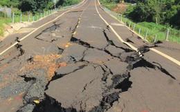 Đường tránh 250 tỷ đồng sụt lún, nứt toác như động đất ở Gia Lai
