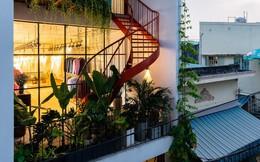 Ngôi nhà nối dài ước mơ tạo lập tổ ấm theo phong cách truyền thống miền Trung của cặp vợ chồng sinh năm 1992