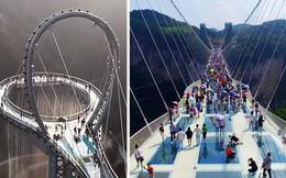 """Những cây cầu kính ở Trung Quốc gây """"choáng váng"""" vì độ hoành tráng, 2 trong số đó từng bị hiểu nhầm là ở... Việt Nam"""