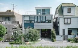 Vợ thu nhập cao xây ngôi nhà 3 tầng view toàn cây xanh và ánh sáng tặng chồng nghỉ hưu ở Nhật