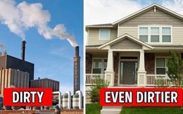 Bi kịch thời hiện đại: Ngoài trời ô nhiễm không khí nặng nhưng trong nhà thậm chí còn bẩn hơn, và đây là lý do tại sao