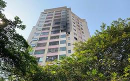 Cháy lớn chung cư Hà Nội nghi do chập điện từ phòng ngủ nhà dân