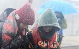 Không khí lạnh tràn về, Bắc Bộ chuyển mưa rét có nơi dưới 17 độ C