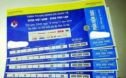 Giá vé xem trận Việt Nam-Thái Lan tăng 'phi mã'
