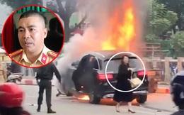 Trung tá CSGT kể lại phút cứu người trong vụ Mercedes gây tai nạn liên hoàn