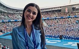 """Nhan sắc đỉnh cao của nữ nghị sĩ trẻ nhất quốc hội Belarus: Từng lọt vào top 5 Miss World 2018, đã đẹp lại có thành tích học tập """"khủng""""!"""