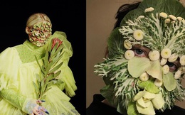 Mỹ nhân Nga gây sốt MXH với phong cách trang điểm bằng rau củ quá: Lúc thì đẹp như hoạ báo, lúc dị đến nổi da gà
