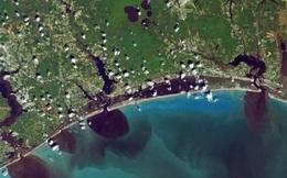 Hình ảnh từ trên cao cho thấy sự tác động của con người đến Trái Đất