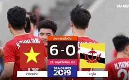 """Báo Thái Lan: """"Hàng công của U22 Việt Nam có sức công phá ghê gớm"""""""